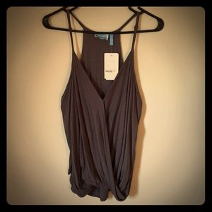 NWT! Beautiful Wrapped Halter Top.